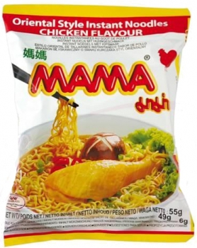 "Instant noodles with chicken flavor ""Mama"""