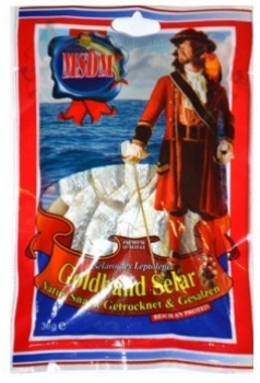 Gold Ribbon Selar Nature Snack Dried & Salted