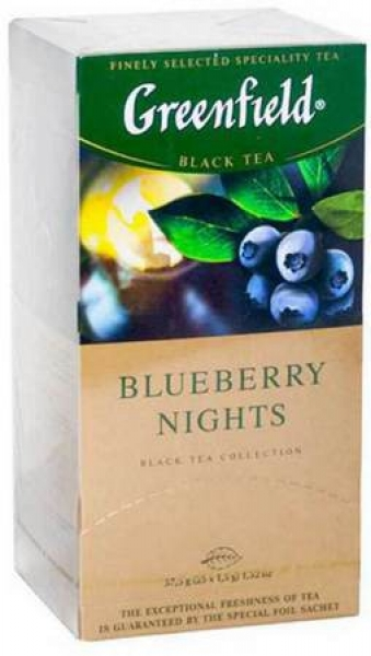 "Black Tea ""Greenfield"" Blueberry Nights"