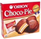"Pastry filled with foam sugar goods in chocolate glaze ""Choco pie"""